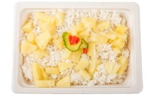 Ananászos rizs
